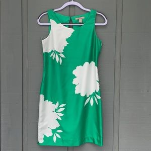 Banan Republic green dress